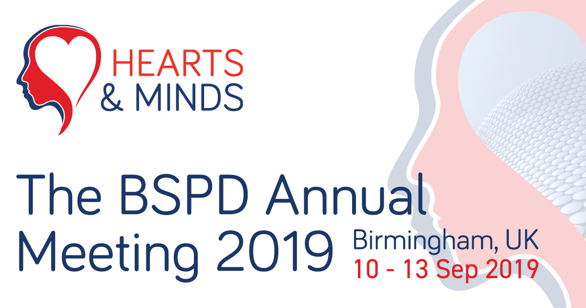 Study Day Speakers - BSPD 2019 Annual Conference - Hearts & Minds